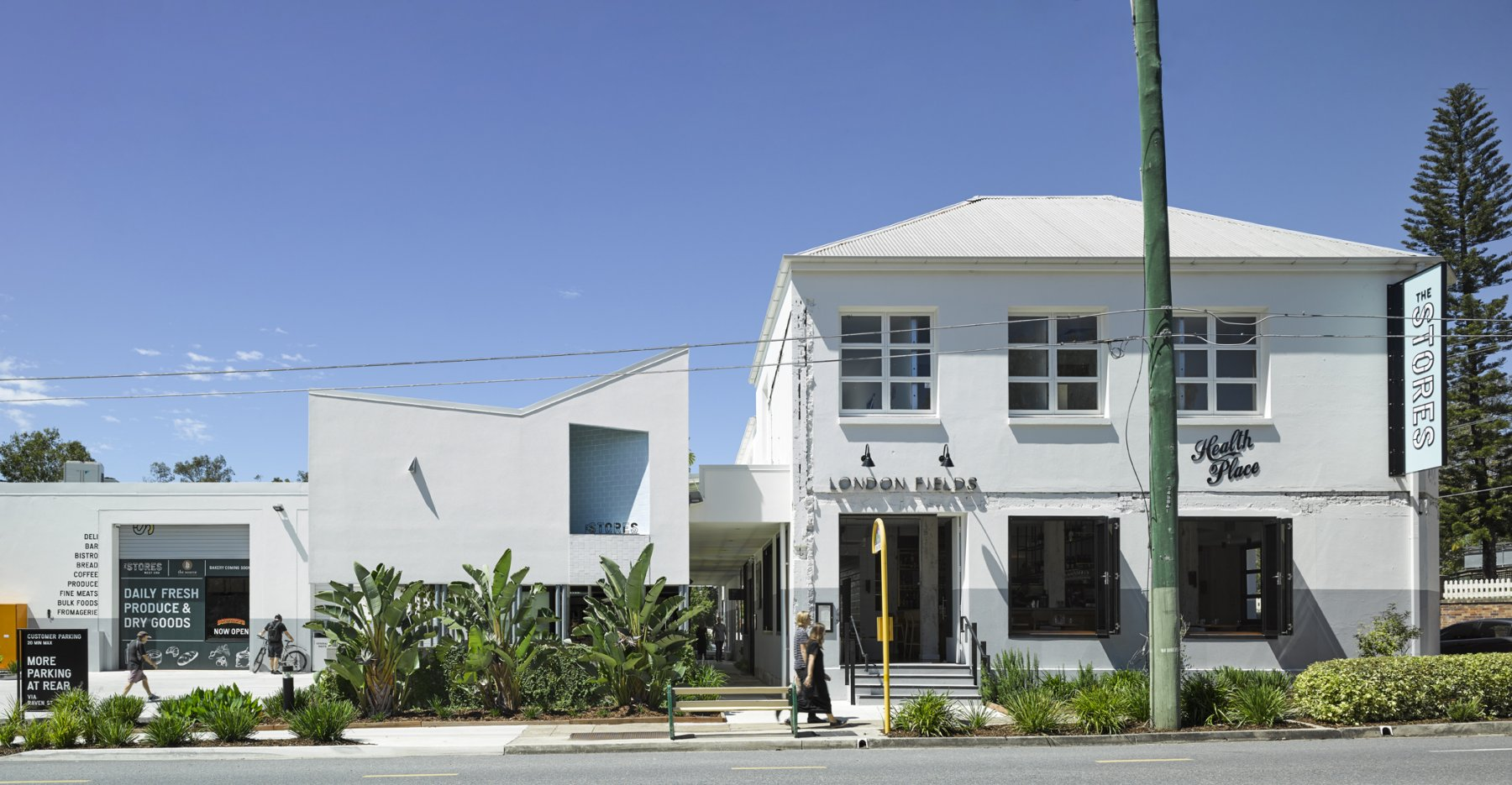 Cavill Architects — The Stores