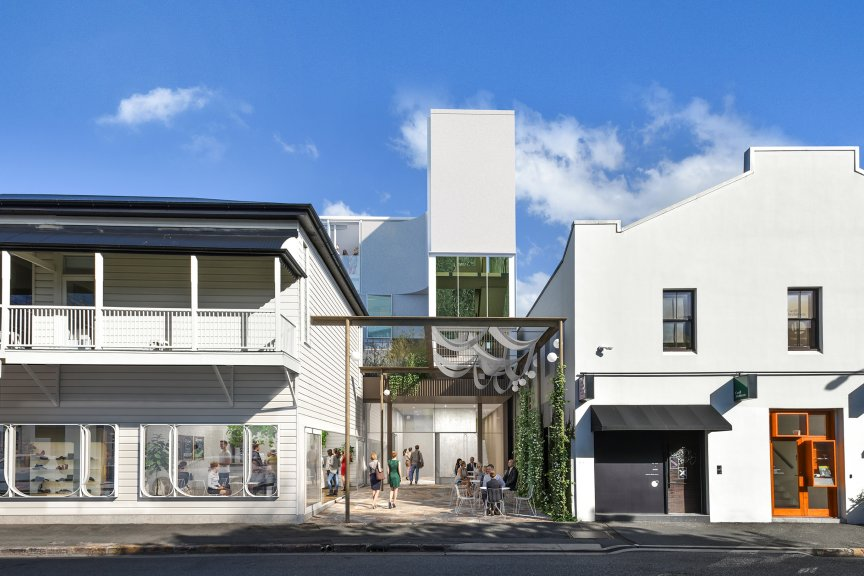 Cavill Architects, Commercial Architects Brisbane, James Street Brisbane, Brisbane Architects, Brisbane Architecture