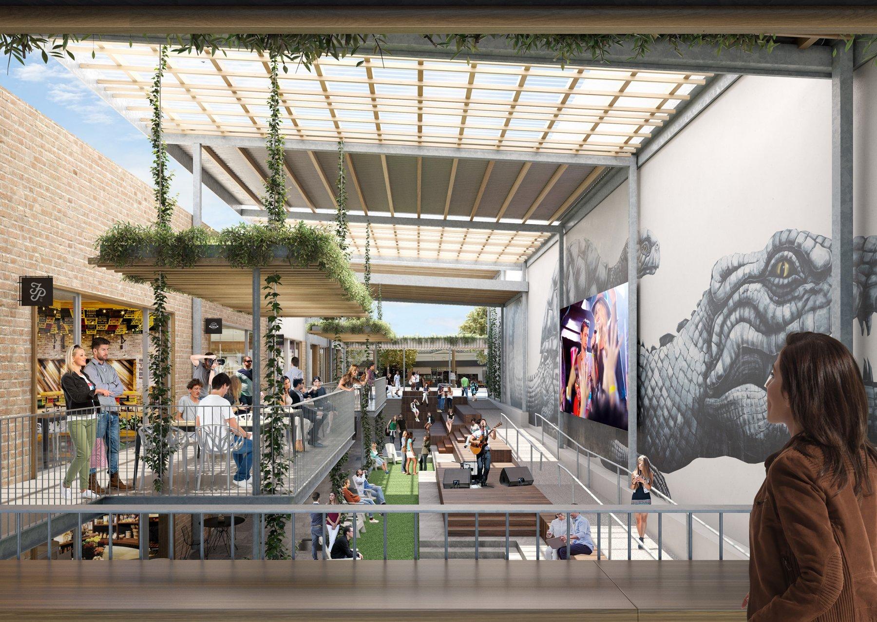 Cavill Architects, Commercial Architects Brisbane, Flinders Lane Townsville, Brisbane Architecture, Brisbane Architects