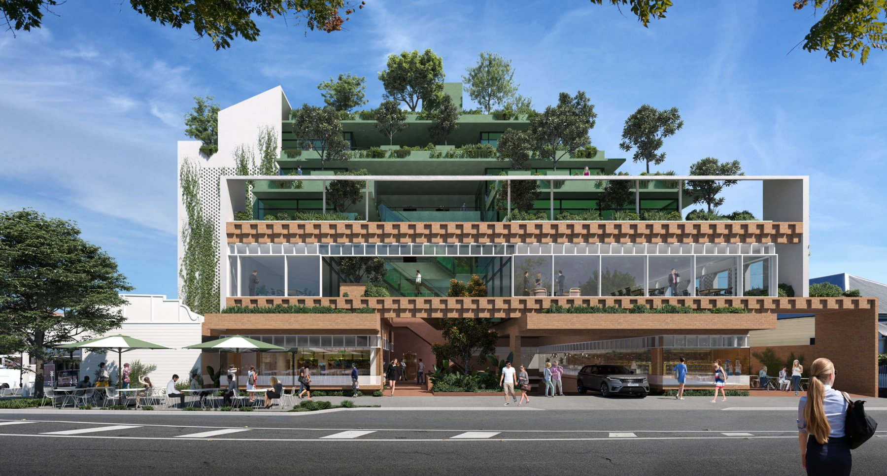 Harcourt Street Commercial, Cavill Architects, Commercial Architects Brisbane